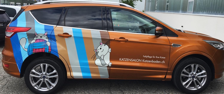 Wagner Schriften Fahrzeugbeschriftungen Referenz Katzenbaden