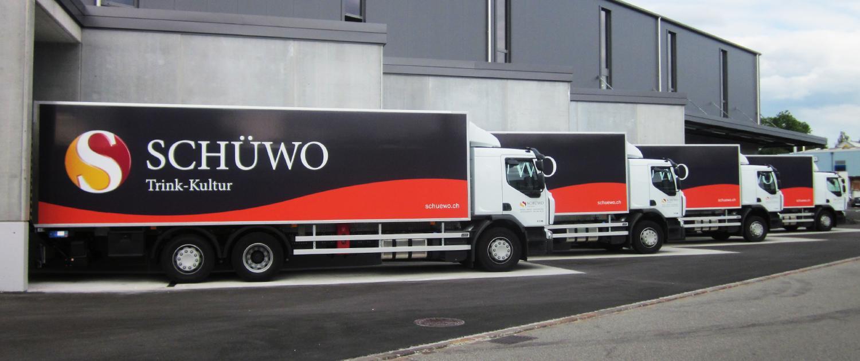 Wagner Schriften Fahrzeugbeschriftungen Referenz Schuewo LKW