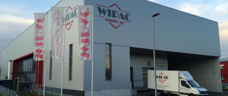 Wagner Schriften Gebaeudebeschriftung Referenz WIPAC