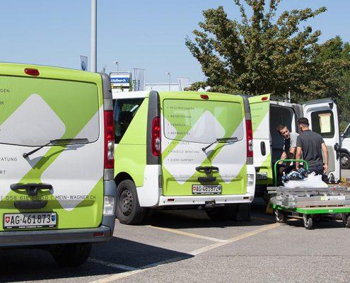 Wagner Schriften Eventsupport Transport Distribution wagner