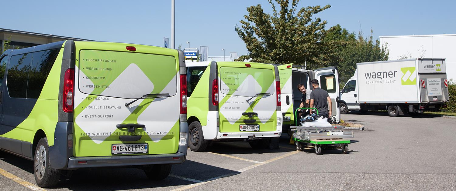 Wagner Schriften Eventsupport Transport Distribution wagner