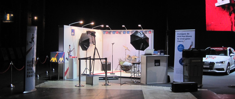 Wagner Schriften Eventsupport Installation und Montage AXAenergy