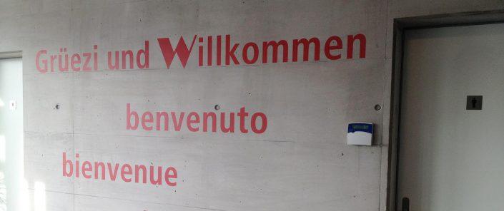 Wagner Schriften Kunst am Bau Referenz WIPAC