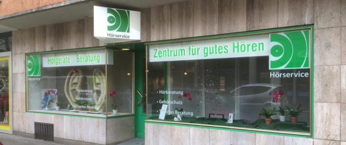 Wagner Schriften Leuchtwerbung Referenz Hoerservice