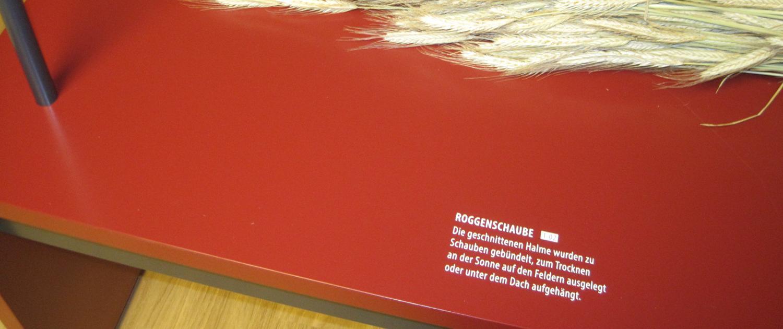 Wagner Schriften Spezialdruck Referenz Strohmuseum Wohlen