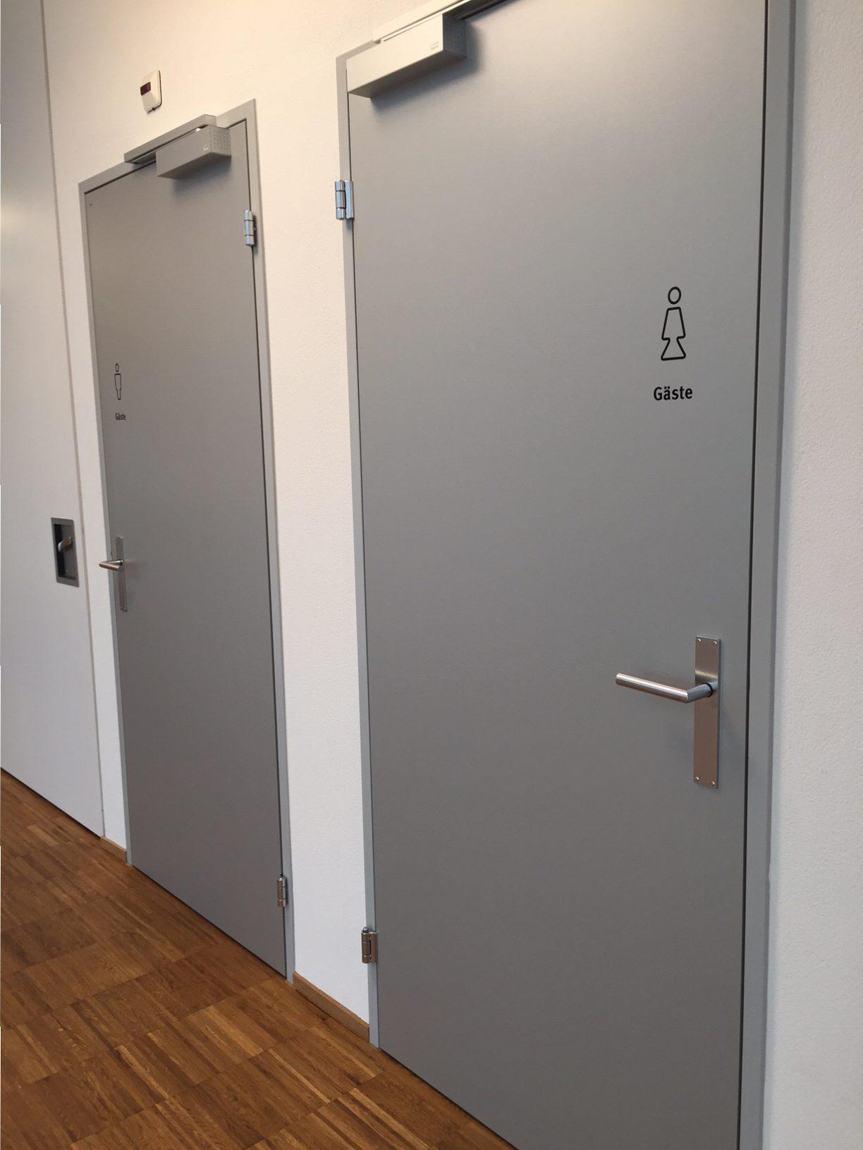Integra WC-Beschriftung