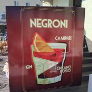 Negroni Werbeplakat