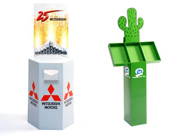 Sonderanfertigung Karton-Display in Form eines Kaktus